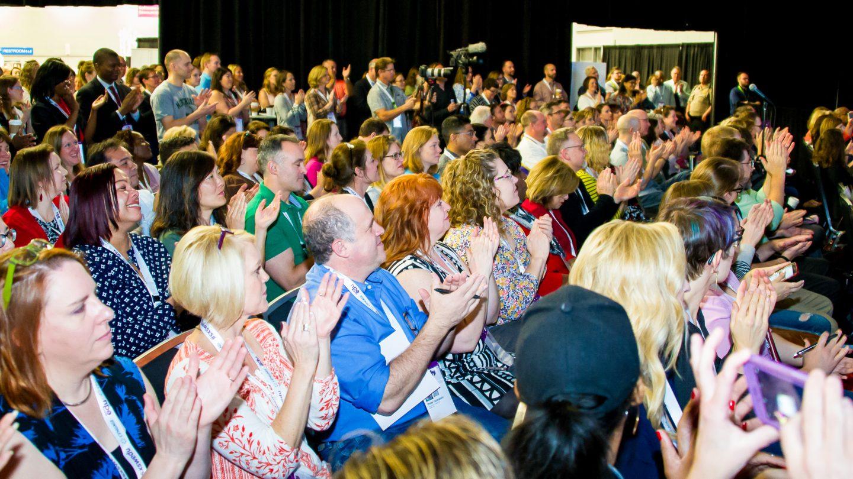 SXSW EDU 2017 Audience during The Rather Prize: The Best Idea to Improve TX Edu talk.