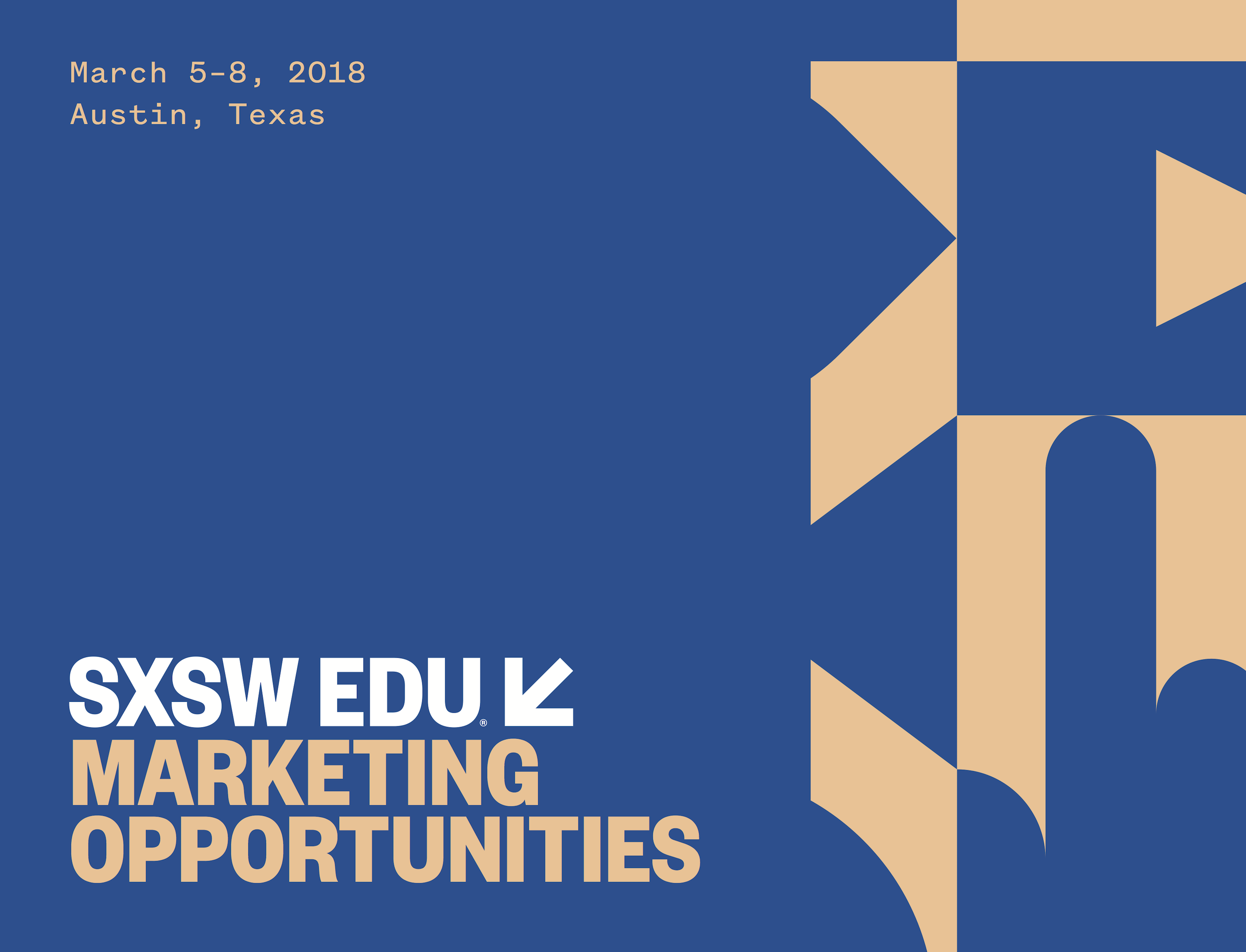 SXSW EDU 2018 Marketing Brochure PNG