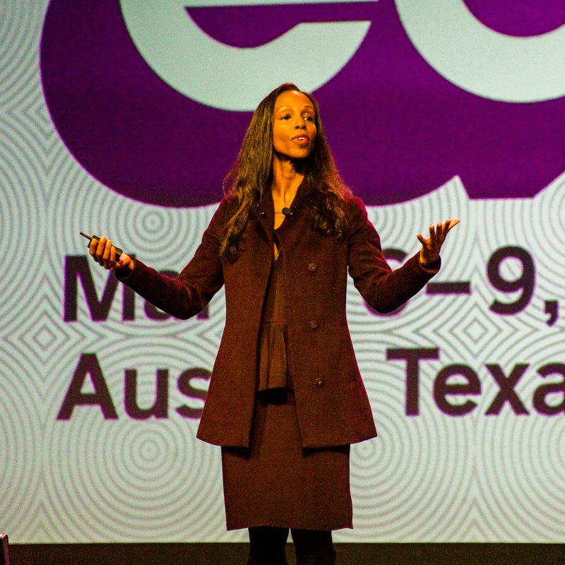 SXSW EDU 2017 Closing Program speaker, Sarah Elizabeth Lewis talk on Creativity & Social Justice.