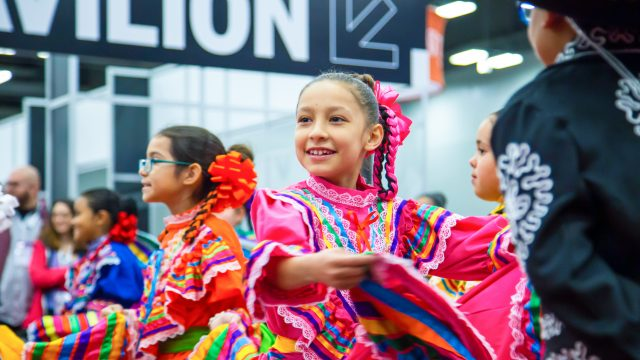 SXSW EDU Learning Performance from Harmony School of Excellence Ballet Folklorico.