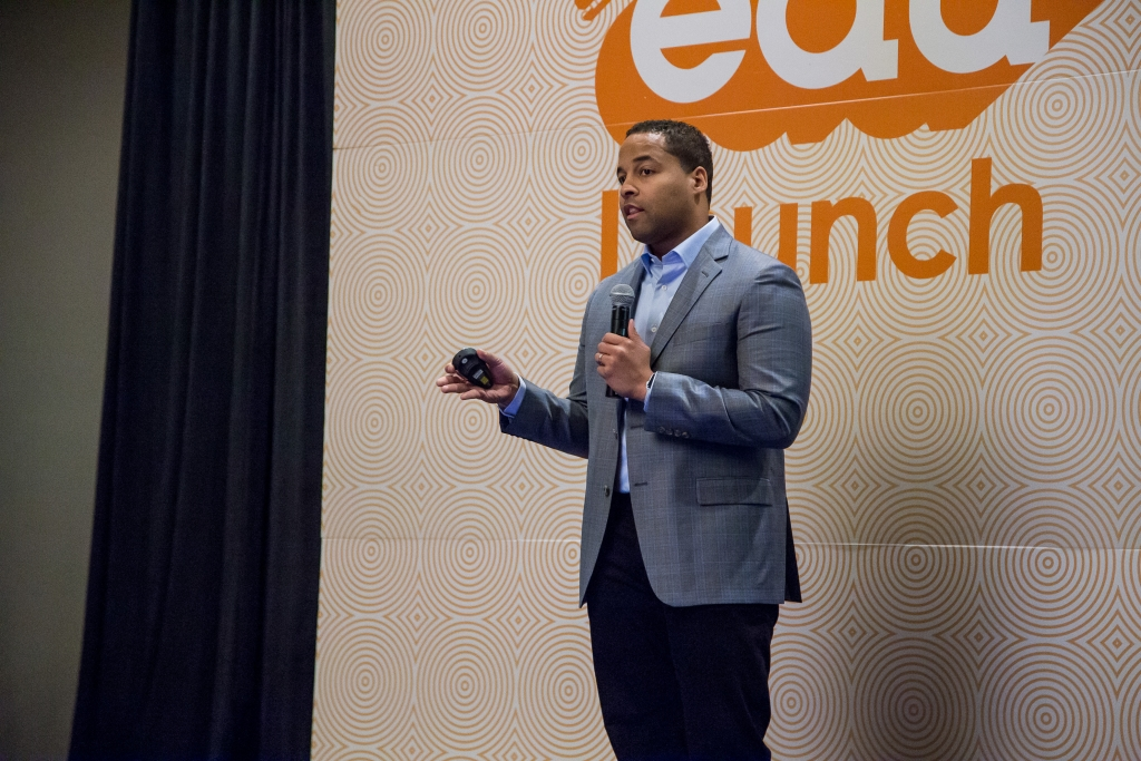 The Whether powered by Better Weekdays startup pitch at SXSWedu Launch.