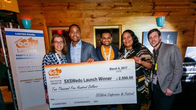 SXSW EDU 2018 Launch Winner, The Whether powered by Better Weekdays.