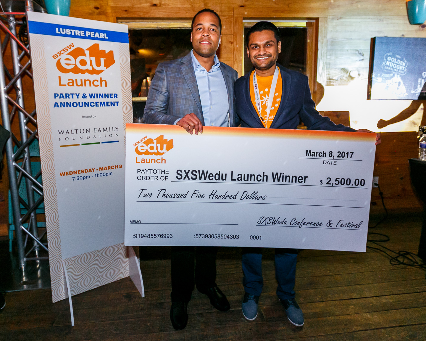 Launch Startup Competition Winner, The Whether powered by Better Weekdays