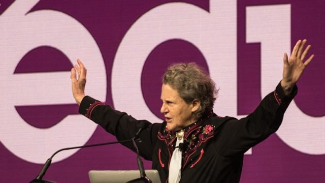 SXSW EDU 2016 Opening Keynote, Temple Grandin. Photo by Rob Santos.