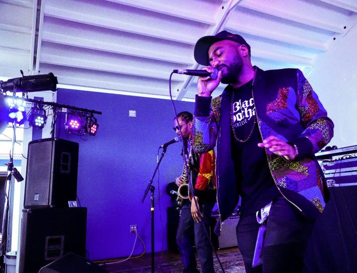 SXSW EDU performance, Rapport Studios presents: Soul Science Lab and Friends. Photo by Ziv Kruger.