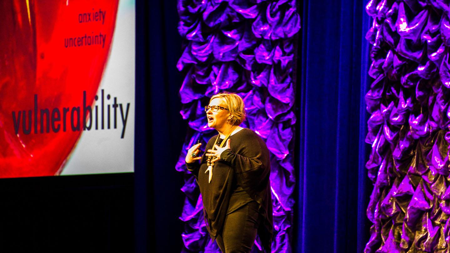 SXSW EDU 2017 Brene Brown Keynote. Photo by David W Rackley.