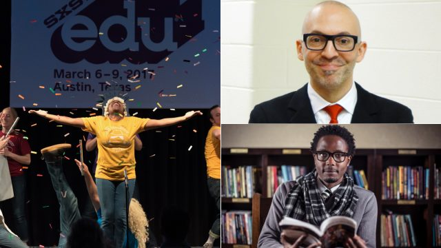 SXSW EDU Arts Highlights featuring the performance series, Mario Rossero and Hakim Bellamnd.