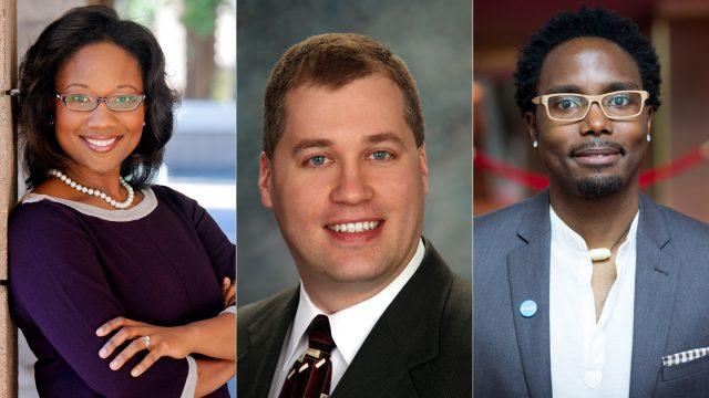 Talithia-Williams-Hakim-Bellamy-Mark-Cousino SXSW EDU 2018 Featured Speakers.