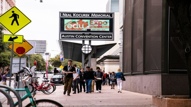 SXSW EDU. Photo By Steven Snow.