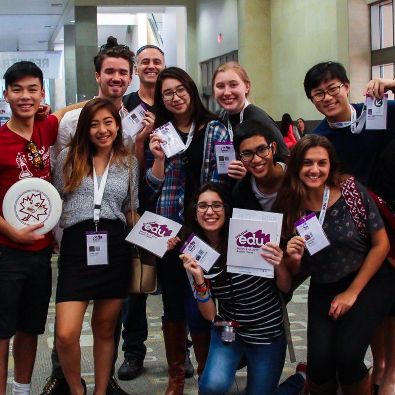 SXSW EDU 2017 attendees.