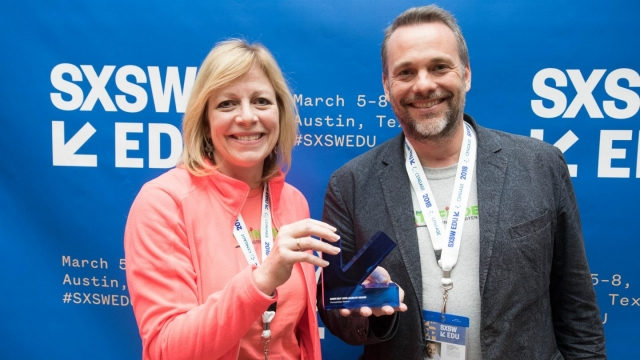 SXSW EDU 2018 Learn by Design Winner, Pathfinder Kindergarten Center. Photo by Steven Snow.