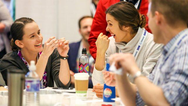 SXSW EDU 2018 hands on session – photo by Diego Donamaria.