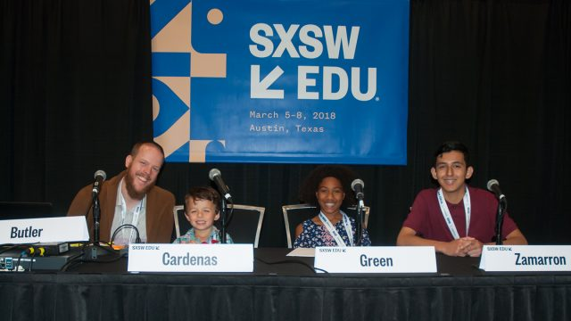 SXSW EDU 2018 Session, Mindfulness and Student Voice Session by Kara Mosher
