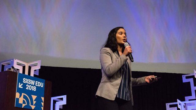 SXSW EDU 2018 Student Startup competition by Amanda Stronza