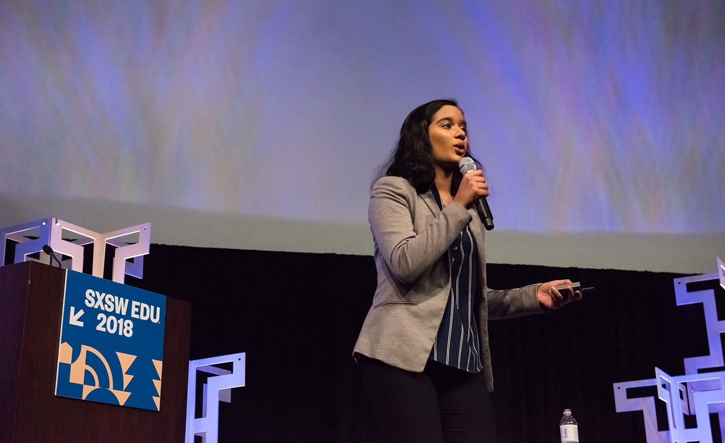 SXSW EDU 2018 Student Startup competition by Amanda Stronza