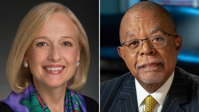 Keynote speakers Paula Kerger & Henry Louis Gates Jr.