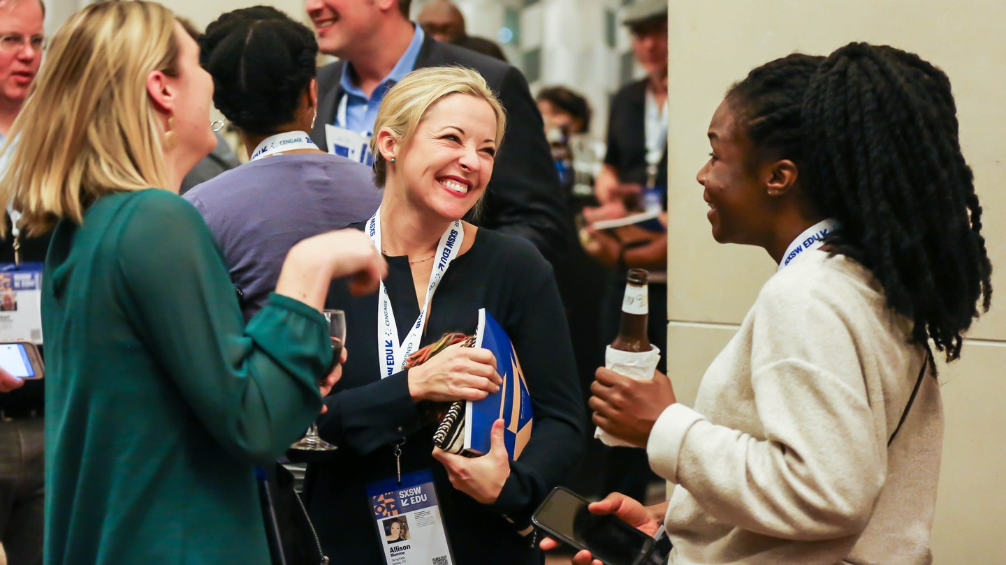 Opening networking party at SXSW EDU 2018.