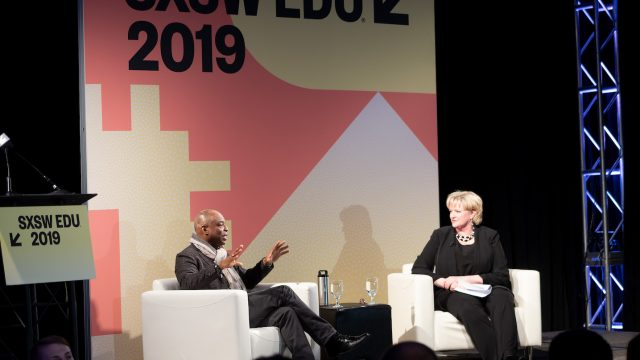 SXSW EDU 2019 A Gift of Literacy A Conversation with LeVar Burton photo by Steve Rogers