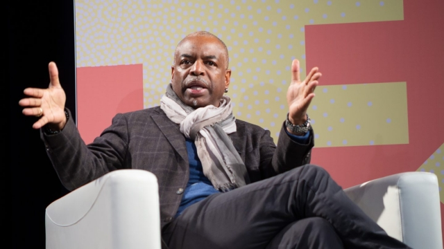 A Gift of Literacy: A Conversation with LeVar Burton and Alicia Levi. Photo by Steve Rogers.