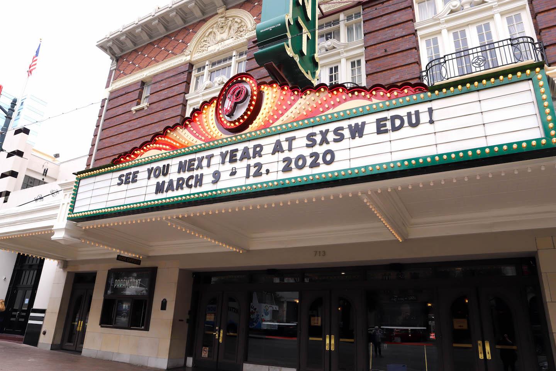 Austin Paramount theater.