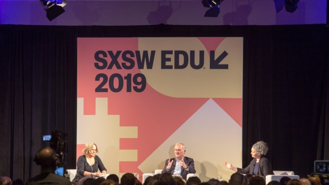 Translating Research into Practice at SXSW EDU 2019. Photo by Sophie Milton.