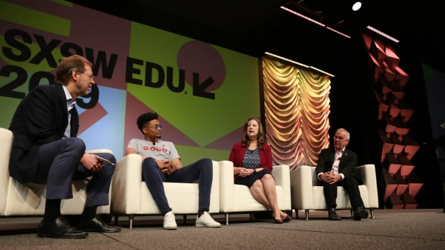 SXSW EDU 2019 Opening Keynote. Photo by Alexa Gonzalez Wagner.
