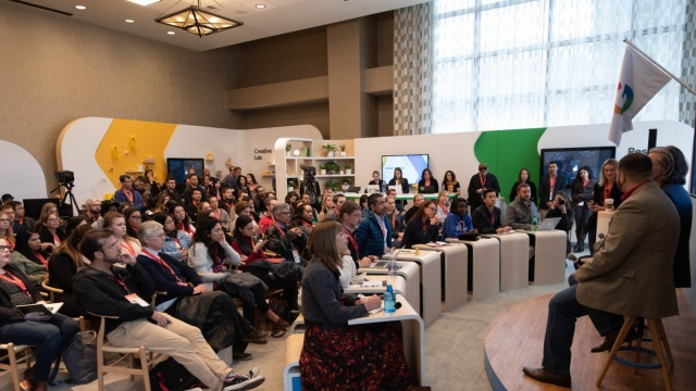 The Google Lab at SXSW EDU 2019. Photo by Christopher Bouie.