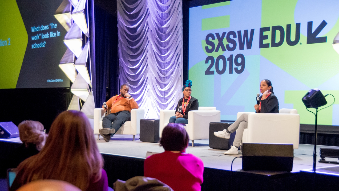 SXSW EDU 2019 panel, Educolor: The Movement for Collective Liberation.
