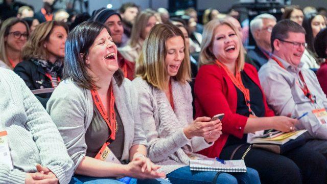 SXSW EDU 2019 audience of attendees.