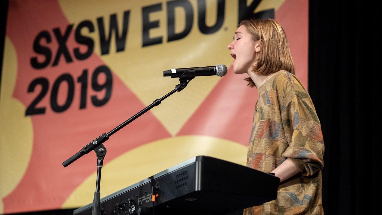 SXSW EDU 2019 performance, Sharing Your Identity Through Artistic Expression.