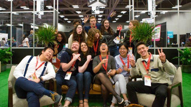 SXSW EDU 2019 student meet up.