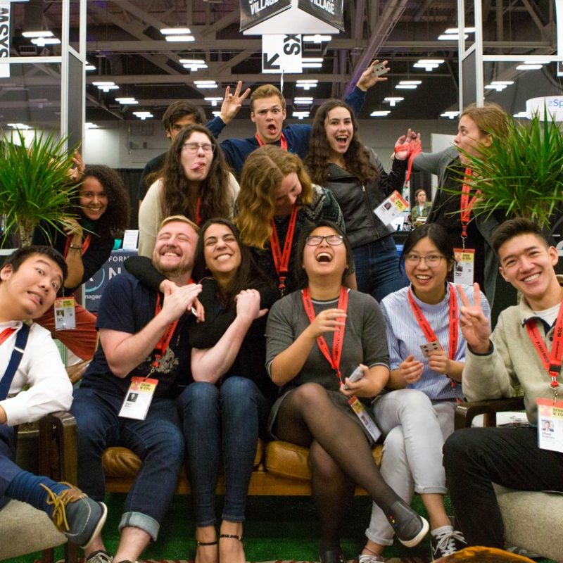 SXSW EDU 2019 student meet up.