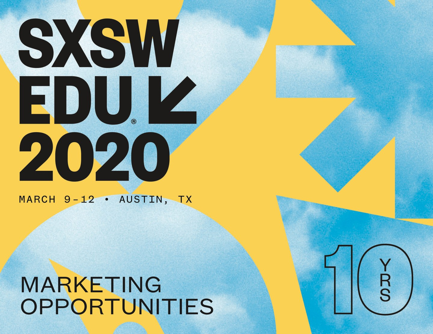 SXSW EDU 2020 Marketing Brochure Cover