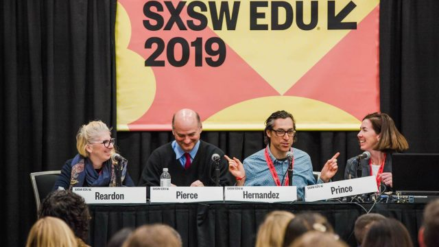 SXSW EDU 2019 session, Storytelling for Impact. Photo by Akash Kataria.