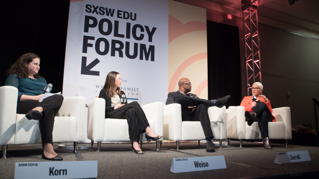 SXSW EDU 2019 Policy Forum photo by Kit Mcneil