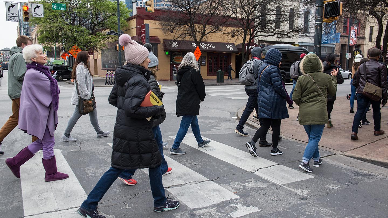 SXSW EDU 2019 Walking Tour photo by Amanda Stronza
