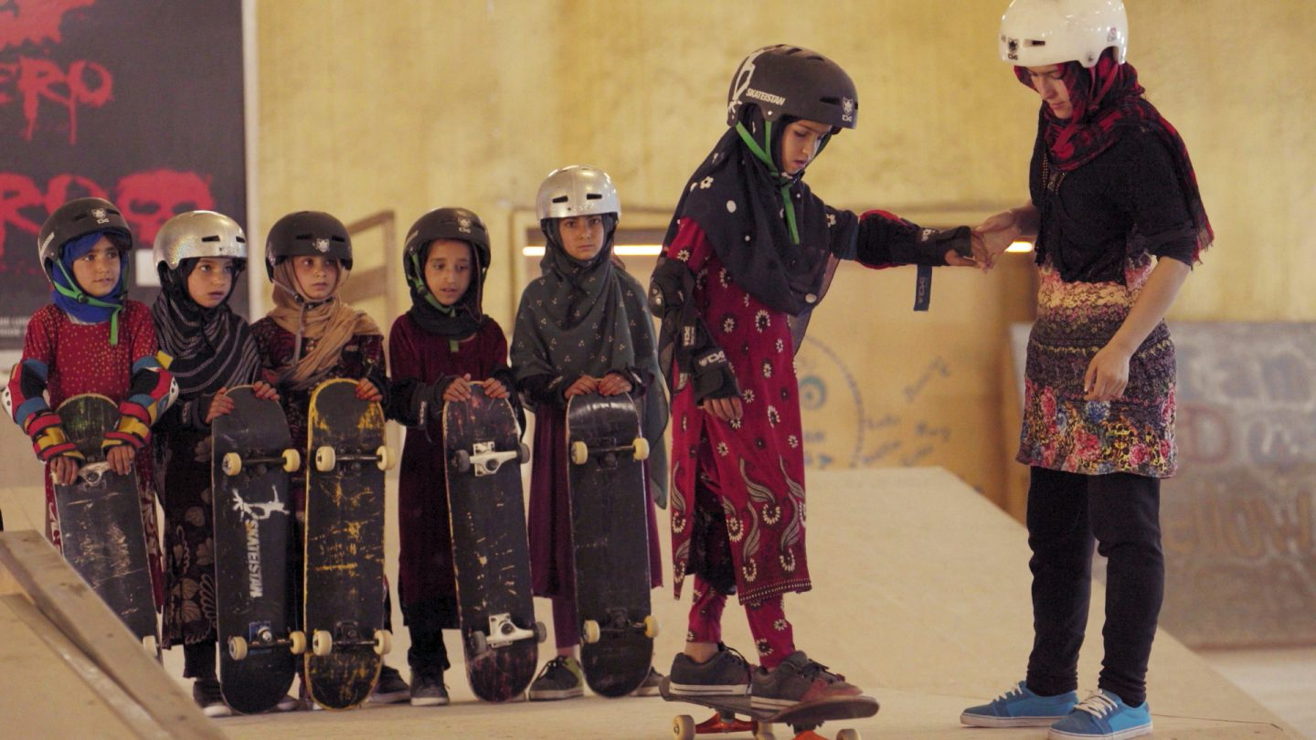 Learning to Skateboard in a Warzone (if you're a girl) film