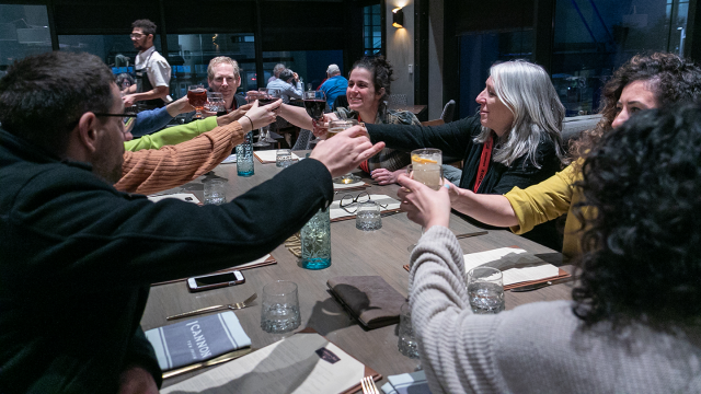 SXSW EDU 2019 pop up dinner photo by Steven Snow