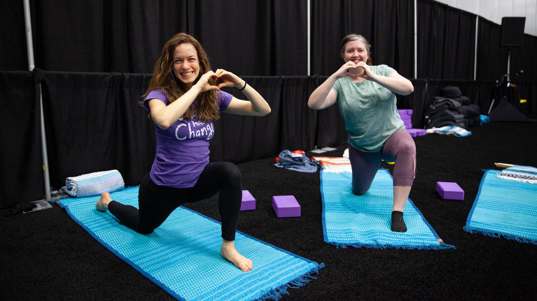 SXSW EDU 2019 Wellness Studio. Photo by Debra Reyes.