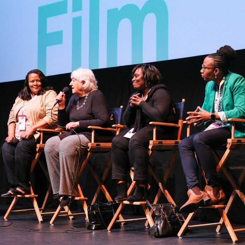 Hidden Figures film Q&A at SXSW EDU 2017. Photo by Steve Rogers.