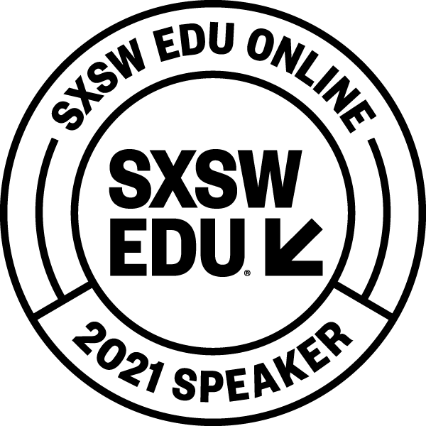 2021 SXSW EDU Speaker Badge