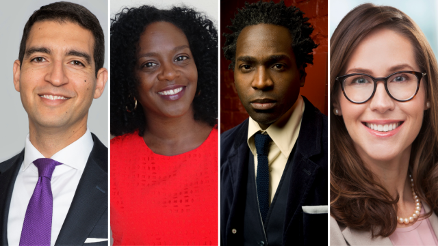 Mohamed-Abdel-Kader, Kanesha Baynard, Kwaku Aning, Josie McSpadden