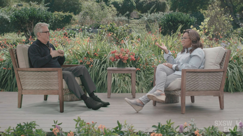 Oprah Winfrey & Dr Bruce Perry in Conversation SXSW EDU Online 2021 Keynote image provided by Harpo