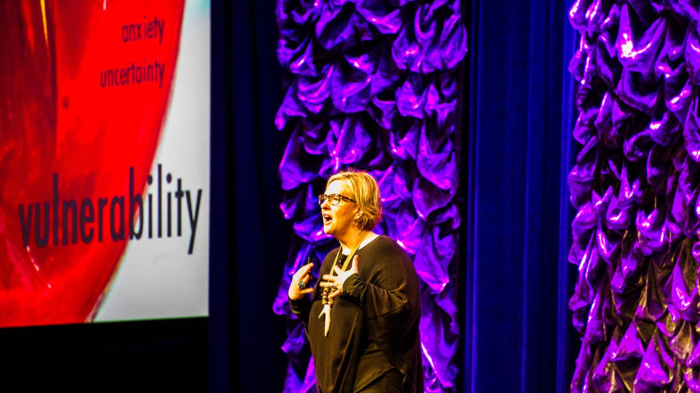 SXSW EDU 2017 Keynote Speaker Brené Brown. Photo by David Rackley