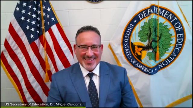 U.S. Secretary of Education Miguel Cardona SXSW EDU Online