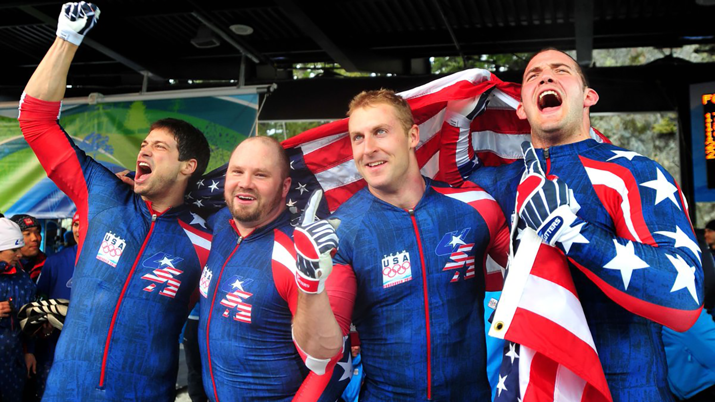 Steve Mesler Olympics photo